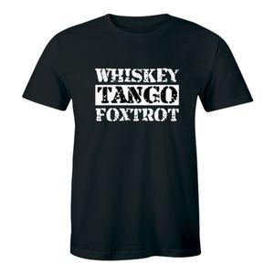 Whiskey Tango Foxtrot - Hilarious Rude Men T-shirt